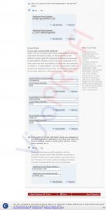 Заповнення анкети DS-160. Всіконтакти: адреса, номери телефонів, пошта, соціальні мережі (Address and Phone Information) продовження